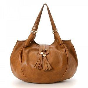 Gucci Vintage Tan Shoulder Bag